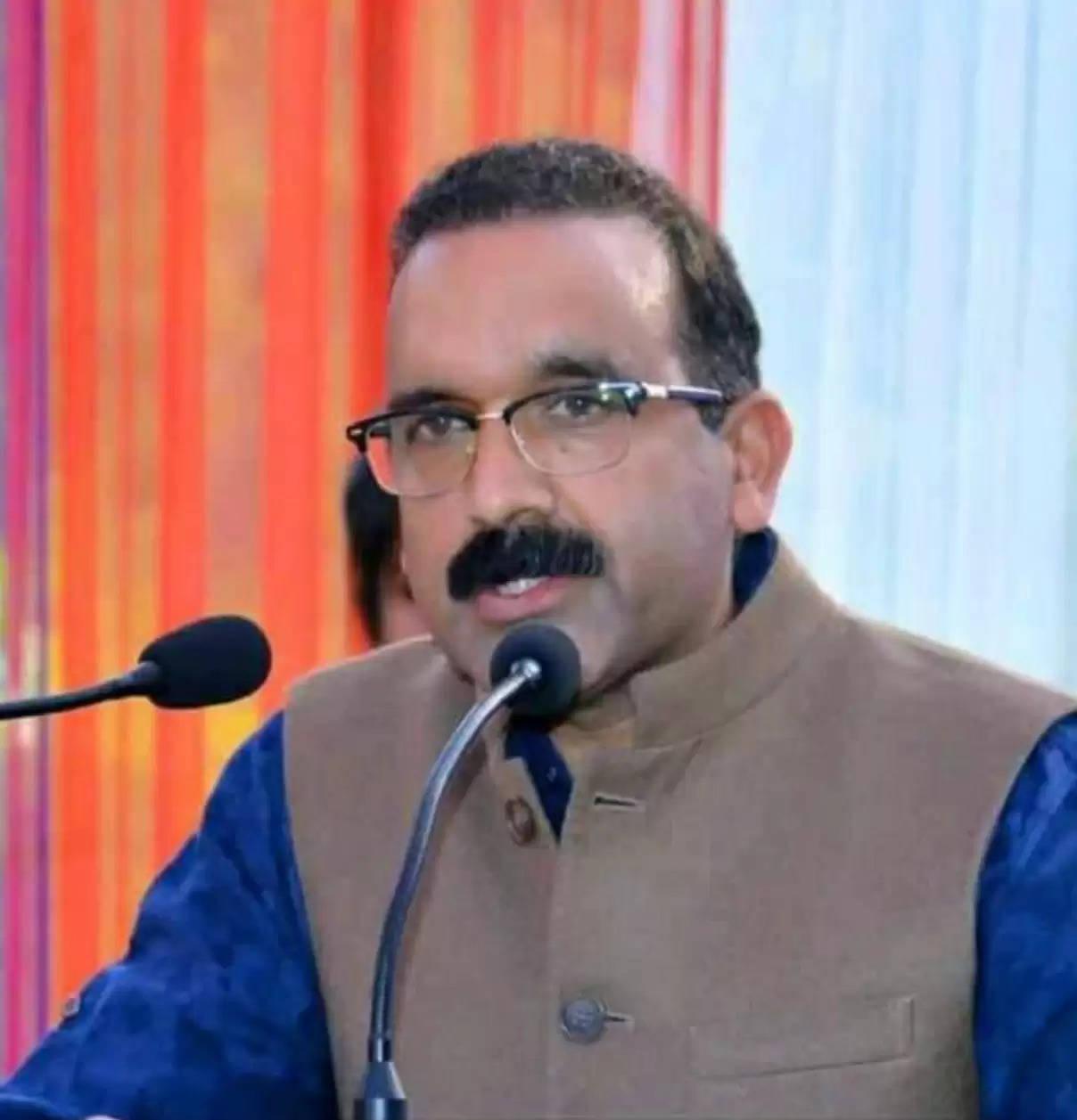 विनोद ठाकुर। भाजपा प्रदेश प्रवक्ता।